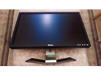 "Dell E207WFP 20"" Inch Widescreen Flat Panel LCD Monitor - Black / Silver"