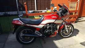 classic yamaha xj 600 low miles 1991 26 years old full m.o.t oringinal example £875