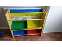 Kids Storage Box and Book Unit