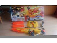 Nerf Gun with accessories