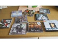 Huge selection of dvd's and cd's