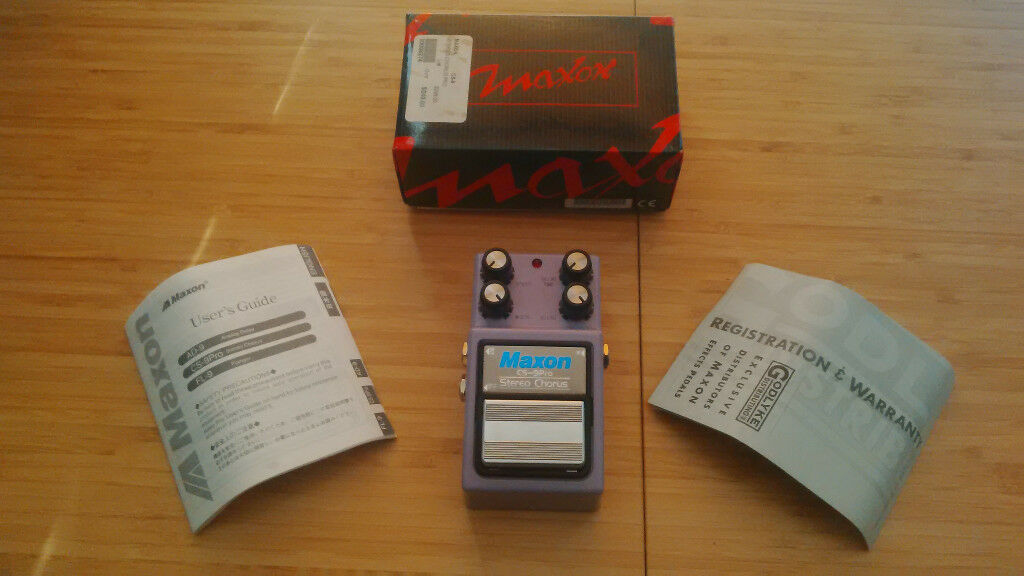 Maxon CS-9 (CS9) Pro analog true bypass stereo chorus pedal