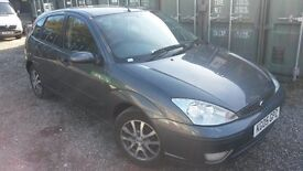 (JAN OFFER) DISCOUNTED FOCUS 05 REG 5 DOOR WITH ONLY 80K MILES..GREY ALLOYS..ELECTRIC WINDOWS..IR