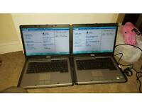 2 x Dell 131L laptops, 2gb ram, need hdd