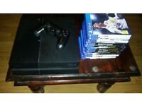 PlayStation 4 500 GB with games included - £200 - SERIOUS BUYERS ONLY!!!