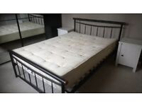 Double bed and mattress, good condition