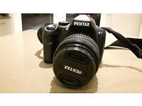 Pentax Kr Digital SLR with 18-55mm Lens