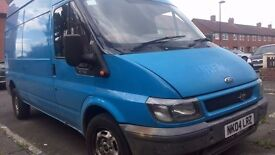 ford transit lwb hi top uprated back springs bargain £1095