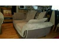 Scs 2 seater brown sofa. Excellent condition. Will deliver. £90 ono