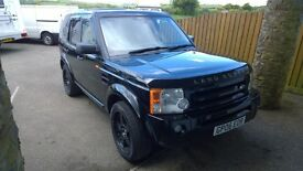 landrover discovery 3 automatic tdv6 s, 2006 reg, 2.7 turbo diesel , 159,000 miles, new mot o