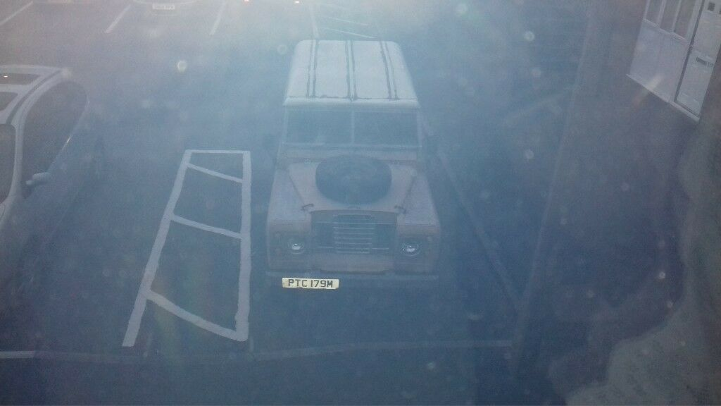 """Land Rover 88"""" - 4 CYL engine bargain @ £3200"""