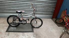 "Childs Chrome BMX 11""Frame 18""Wheels"
