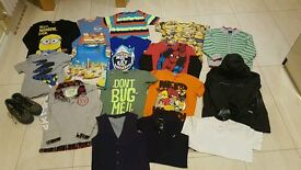 BOYS CLOTHES BUNDLE AGE 5-6 YEARS *HUGE*