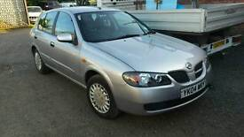 Nissan almera 1.5 petrol 2005reg breaking for parts