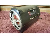 Pioneer 200w Sub / Bass tube with built in amp