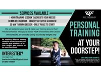 Personal Trainer / Training At Your Own Doorstep! First Session Free Offer