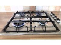 Stainless Gas Hob Zanussi ZGL 62 Excellent Order and with original Instruction Manual