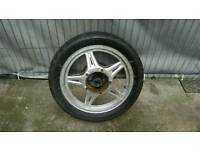 Honda CB250RS 1981 REAR WHEEL WITH TYRE