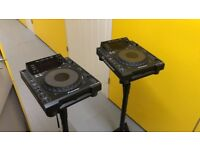 Pioneer CDJ 900 (Pair) DJ Turntable/Decks
