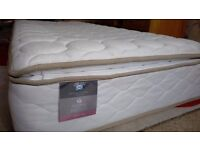 Pine Bed Frame and Luxury Sealy Mattress *BARGIN - MUST GO*