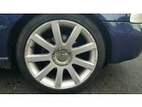 "18"" RS4 Alloys P/X for 17"""