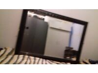 Large black mirror for sale