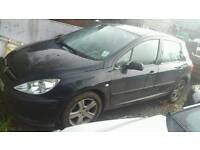 Peugeor 307 1.6hdi 2004 reg breaking for parts