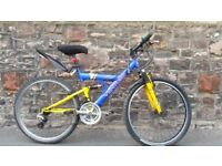 FULLY SERVICED FULL SUSPENSION VENTURE BICYCLE