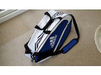 Tennis bag - Adidas - blue and white