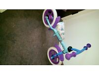 Disney frozen kids balance bike