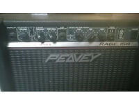 PEAVEY RAGE 158 TUBE AMP- EXCELLENT SOUND
