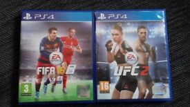 Fifa 16 and ufc2
