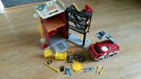 Imaginext Fire Station, Fire engine & accessories
