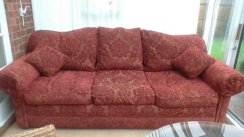 Sofa Settee Designer Mark Elliot Good Condition