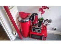 Red kitchen bundle