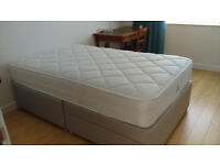 Small double bed or large single bed