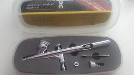 Spearmax SP-35 Airbrush & mini compressor, boxed and unused