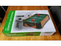 Table top air football brand new