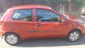 2004 red fiat punto 3 door 1.2l. £495 ono