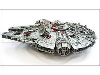 DISCONTINUED AND RARE Lego Star Wars 10179 UCS The Millenium Falcon!!