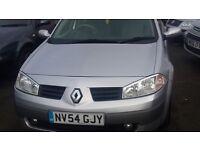 Renault Megane 1.6 Auto 5 Door Petrol in Silver 12 months mot