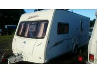 Touring caravan for rent £200 aweek Bailey vermont