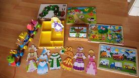 Wooden Toy Bundle