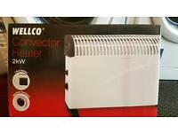 Wellco brand new electric heatre fully working with guaranty