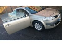 Renault Megane Convertible - GREAT LITTLE CAR - LOOKS AND DRIVES WELL - with Months of MOT
