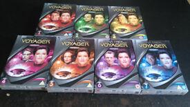Star Trek Voyager season 1-7 dvd complete