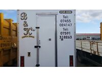 Food catering trailer