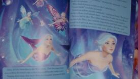 Barbie Mariposa story book