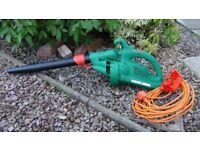 Electric leaf blower