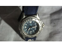 Rare Animal Watch Series 040s Worldwide FreeRide 100m 10ATM